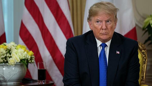 Трамп опроверг уход в бункер из-за беспорядков