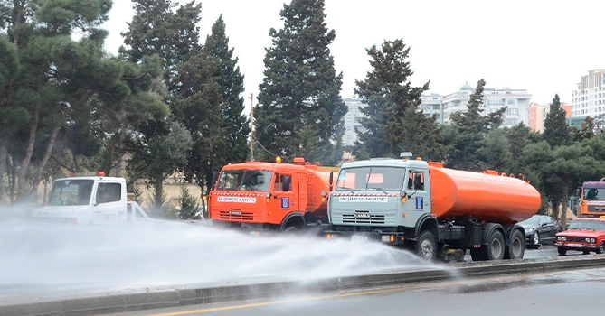 В Баку будут проведены усиленные дезинфекционные работы
