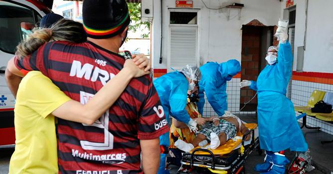 В Бразилии за сутки коронавирусом заразились более 39 тысяч человек