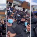 Сотни мигрантов устроили бунт намосковском рынке
