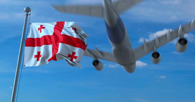 Грузия возобновляет международное авиасообщение с пятью странами