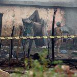 У Карачи разбился пассажирский самолет