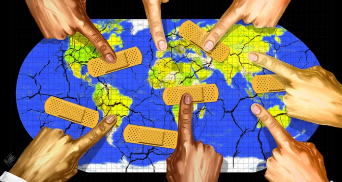 Мир спасают только войны и эпидемии?