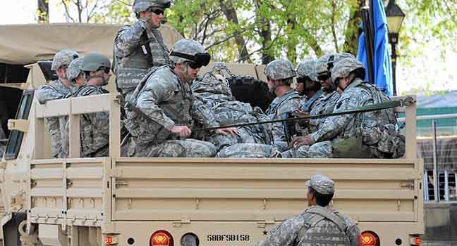 Власти бунтующей Миннесоты впервые объявили о полной мобилизации Нацгвардии