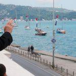 В Турции прошло приуроченное к 567-й годовщине завоевания Стамбула морское шествие