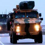 Во время проезда конвоя ВС Турции в Идлибе произошел взрыв