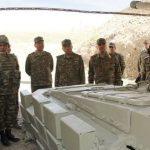 Закир Гасанов посетил передовые воинские части