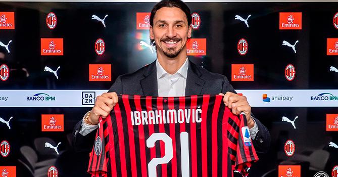 39-летний Златан продлит контракт с «Миланом» до 2022 года
