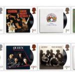 Почтовые марки к 50-летию группы Queen выпустили в Британии