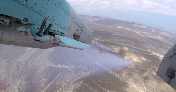 Авиация ВВС Азербайджана провела летно-тактические учения с боевой стрельбой