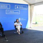 Ильхам Алиев и Мехрибан Алиева приняли участие в открытии трех больниц модульного типа
