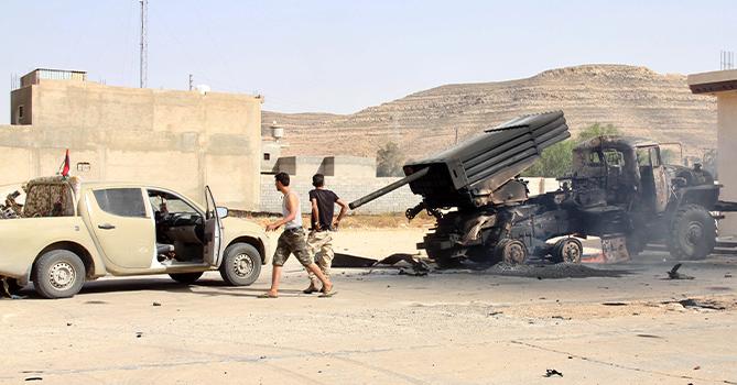 Контроль над Тархуной перешел к ливийской армии