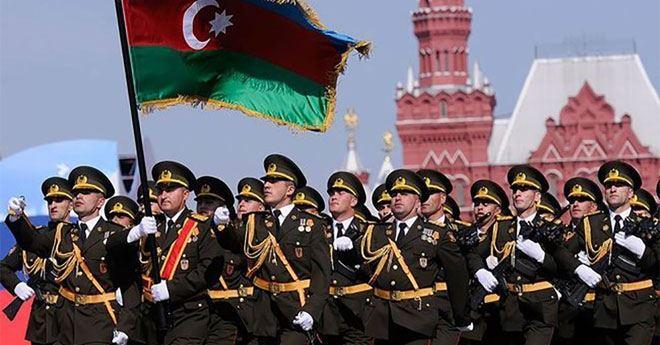 Азербайджанские военнослужащие примут участие в параде Победы в Москве