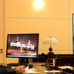 Российский президент во время видеоконференции заявил, что коронавирус отступает