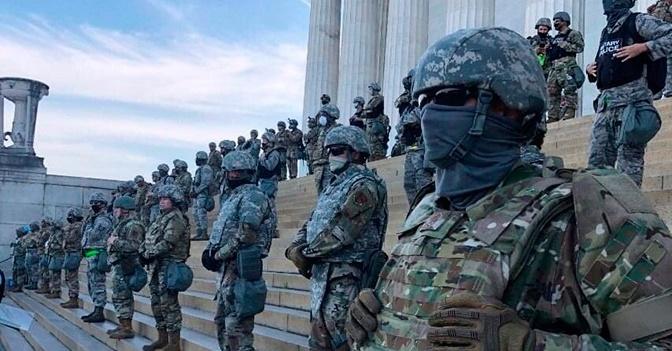 В Вашингтон перебросят около 25 тыс. солдат на время инаугурации Байдена