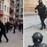 Азербайджанские полицейские вспомнили времена Древнего Рима - ВИДЕО