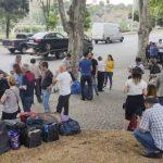 Автобусы с эвакуируемыми гражданами Азербайджана выехали из Тбилиси