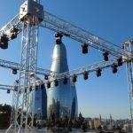 Концерты все-таки будут: AZTV строит сцену на одной из самых высоких точек Баку