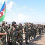 В Тбилиси проходит акция в поддержку Азербайджанской армии