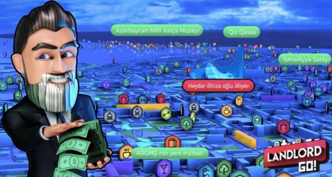 Баку на карте Landlord GO: теперь геймеры вместо покемонов гонятся за недвижимостью