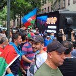 Перед постпредством ООН и консульством Армении в Нью-Йорке проведены акции протеста