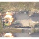 Азербайджанская армия нанесла удары по опорному пункту противника - Видео