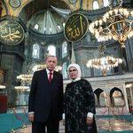 Президент Эрдоган вновь посетил Айя-Софию - второй раз за неделю