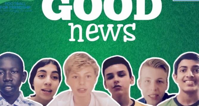 Юный журналист из Азербайджана поддерживает мир «Хорошими Новостями»