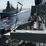 """Фрегат """"Гамбург"""" ВМС Германии отправляется в Средиземном море"""