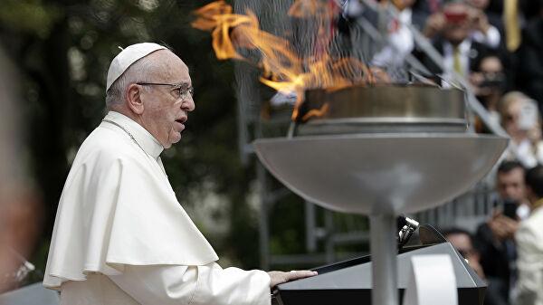 Папа Римский прокомментировал превращение собора Святой Софии в мечеть