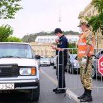 В Баку восстановлены полицейские посты