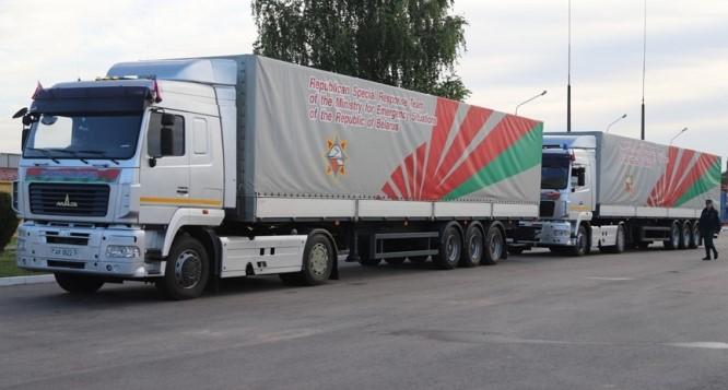 Беларусь направила Украине гуманитарную помощь в связи с наводнением