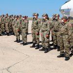 В Баку торжественно встретили участвующего в учениях личный состав ВС Турции