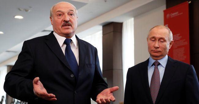 Путин и Лукашенко обсудили ситуацию в Беларуси