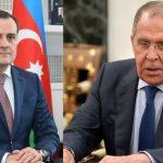 Главы МИД РФ и Азербайджана обсудили реализацию договоренностей по Карабаху