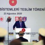 Эрдоган на церемонии передачи ВМС Турции 12 современных судов - ФОТО