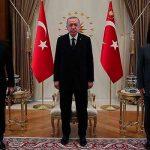 Реджеп Тайип Эрдоган принял глав МИД и Минобороны Азербайджана