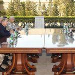 Ильхам Алиев принял турецкую военную делегацию