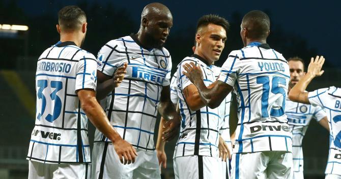 «Интер» занял второе место в чемпионате Италии по футболу