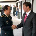 Главы оборонных ведомств США и Китая обсудили вопросы безопасности