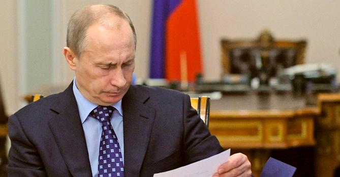 Путин написал письмо Лукашенко