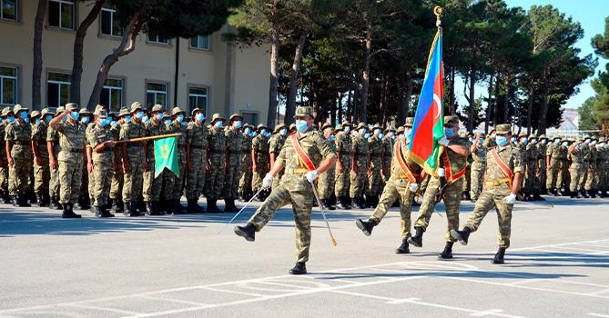 Новобранцы Азербайджанской Армии сегодня приняли присягу