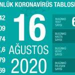 За последние сутки в Турции у 1192 человек тесты на вирус дали положительный результат
