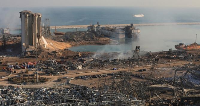 Турция готова отстроить порт в Бейруте