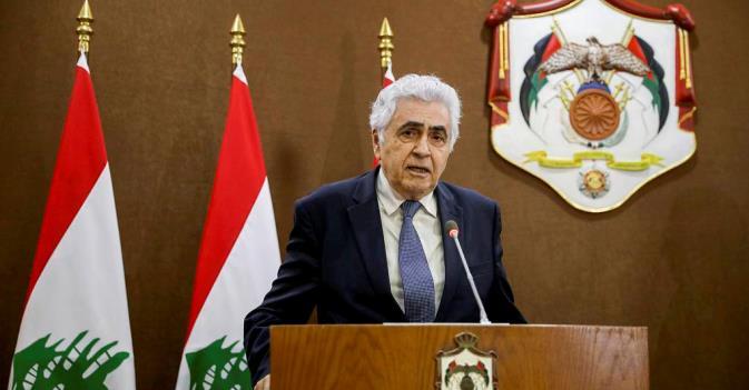 Глава МИД Ливана подал прошение об отставке