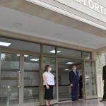 Ильхам Алиев принял участие в открытии нового корпуса средней школы № 251