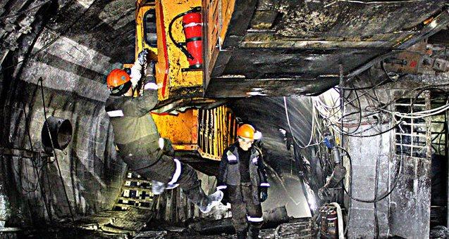 Бастующие украинские шахтеры уже 17 дней провели под землей