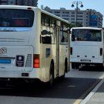 Общественный транспорт в Азербайджане приостановил работу