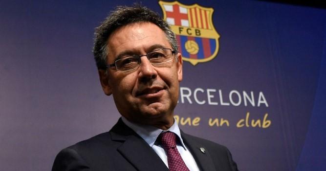Бартомеу покинул пост президента «Барселоны»