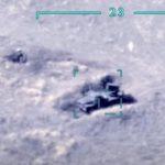 За последние часы азербайджанская армия уничтожила 8 единиц боевой техники противника - ВИДЕО